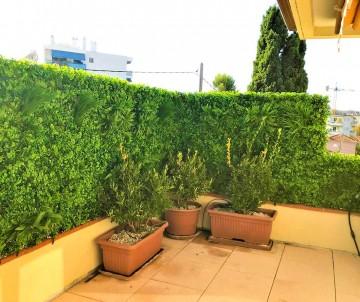 Brise vue faux mur végétal artificiel lavande à 54.95TTC/m²