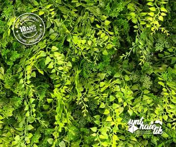 Brise vue Mur végétal artificiel haie artificielle fougères à 54.95TTC/m²