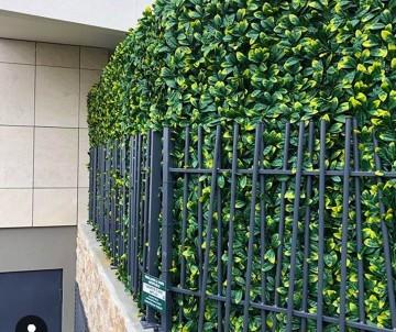 Brise vue Haie artificielle Feuillage artificiel laurier cerise à 34.95TTC/m²