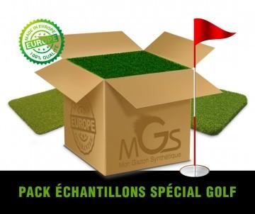 Pack Echantillons Gazon synthétique Golf