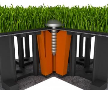Drain Panels Sous Gazon Synthétique et Pelouse Synthétique