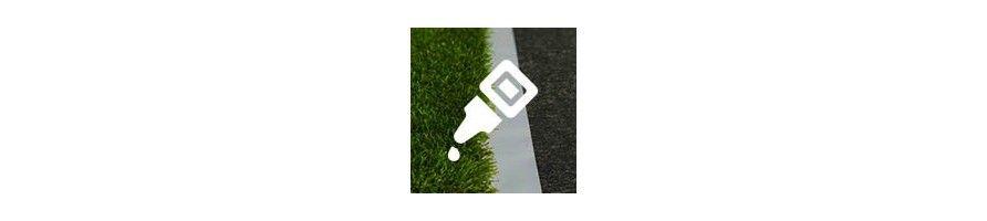 Bande de jointure pour gazon synthétique et Colle pour gazon synthétique et pelouse artificielle