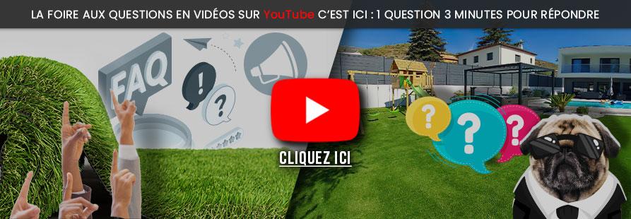 FAQ questions frequentes sur le gazon synthétique MGS